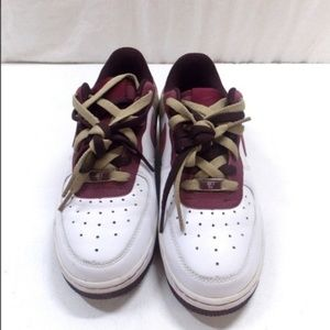 Nike Air Force 1 '07 Garnet and Tweed Sneakers